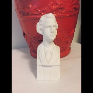 Miniature 4 Inch High Bust of Chopin